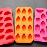 硅胶模 冰格安全环保TPR冰格模具 方形手工雪糕冰格模具厨房工具
