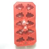 硅胶模冰格 厨房工具安全环保TPR冰格方形手工雪糕冰格模厂家批发
